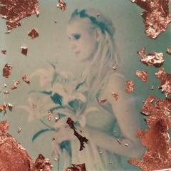 Melancholia  - Contemporary, Figurative, Woman, Polaroid, Photography