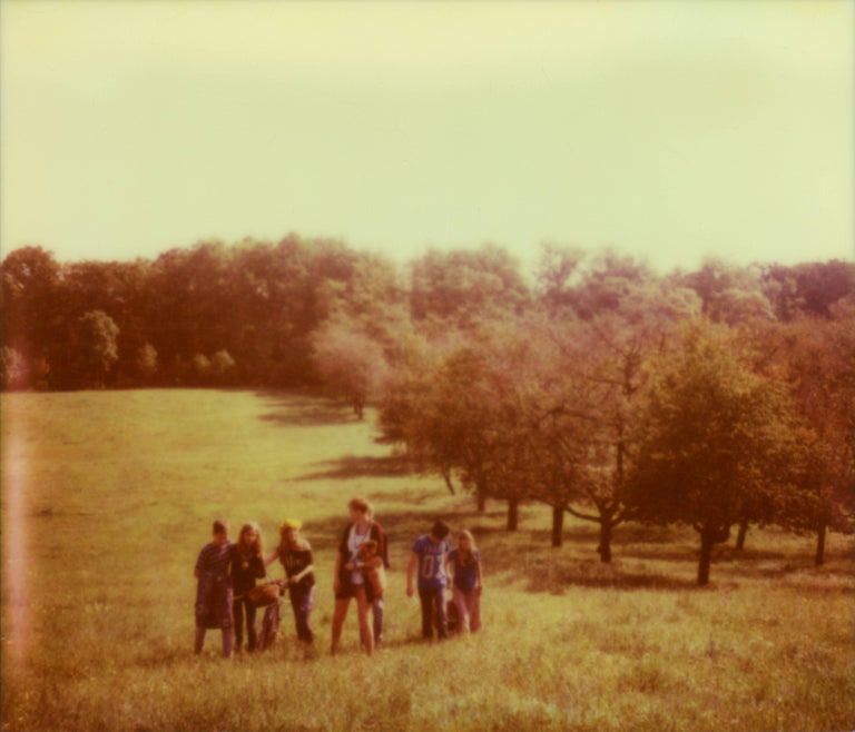 Julia Beyer Color Photograph - Mountains, 21st Century, Polaroid, Landscape Photography, Contemporary
