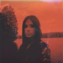 Not that funny - Contemporary, 21st Century, Portrait, Polaroid, Photograph