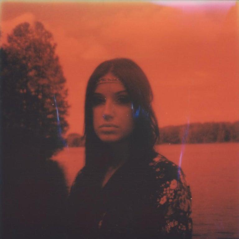 Julia Beyer Color Photograph - Not that funny - Contemporary, 21st Century, Portrait, Polaroid, Photograph