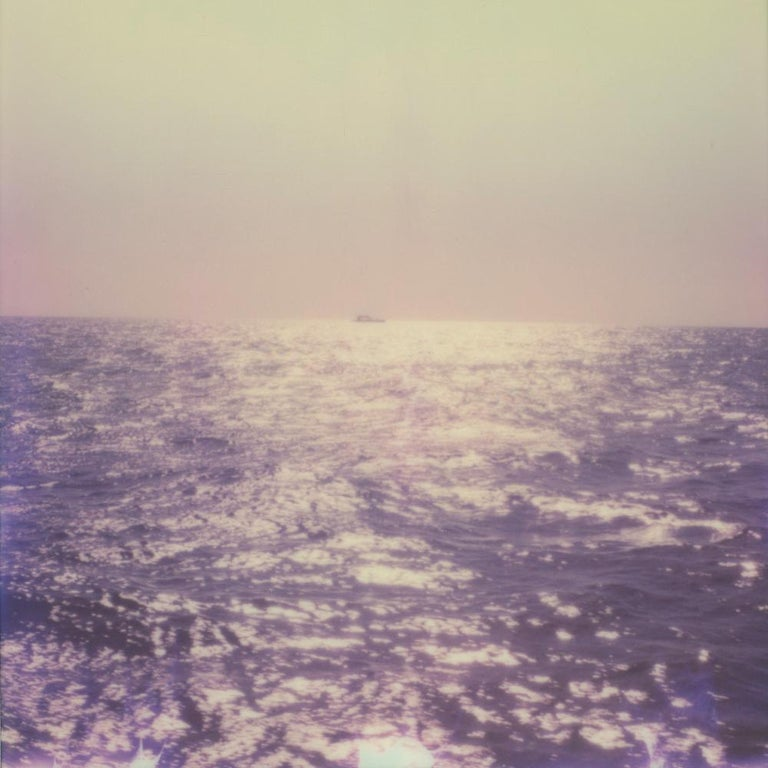 Julia Beyer Color Photograph - Out In The Open Sea - Contemporary, Polaroid, 21st Century, Landscape