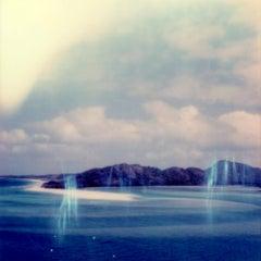 Pale Clouded White - Contemporary, Polaroid, Photography, Landscape, Color