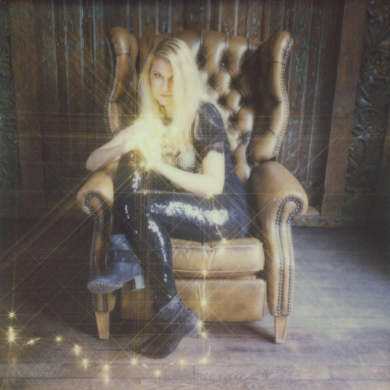 Rejoicing In The Light, 21st Century, Polaroid, Figurative Photography, Contempo