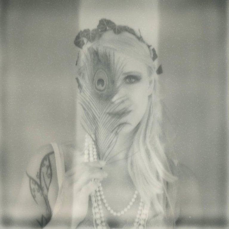 Julia Beyer Black and White Photograph - Rêverie - Contemporary, Polaroid, 21st Century, Photography, Portrait