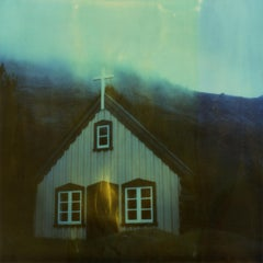 Solitude, 21st Century, Polaroid, Landscape Photography, Contemporary
