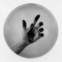 Sound of my Heart (Hands) - Polaroid, Color, Contemporary, Mythology