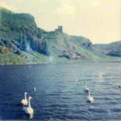 St. Margret's Loch (Caledonia) - Contemporary, Polaroid, 21st Century, Landscape