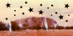 Stars And Topsoil - Contemporary, Polaroid, 21st Century, Landscape