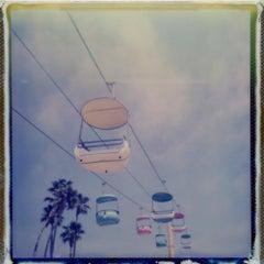 Take Me To The Stars - Contemporary, Polaroid, 21st Century, Landscape
