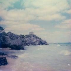 Templo De Dios Del Viento - Contemporary, Polaroid, 21st Century, Landscape