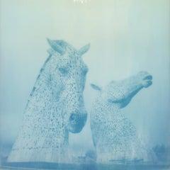 The Kelpies - Polaroid, Contemporary, Landscape, 21st Century