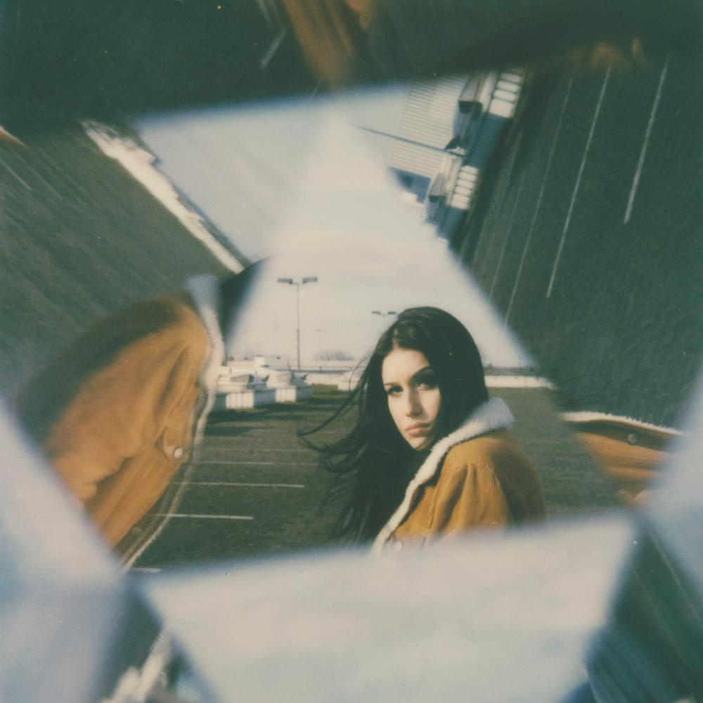 Tubular - Contemporary, Figurative, Woman, Polaroid, Photograph