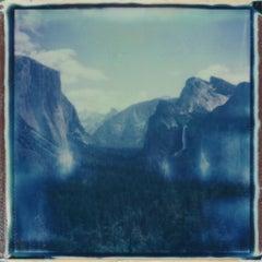 Tunnel View - Contemporary, Polaroid, 21st Century, Landscape