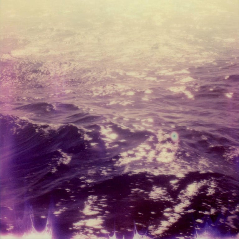 Julia Beyer Portrait Photograph - Wild Waters - Contemporary, Polaroid, 21st Century, Landscape