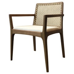 """Julia"" Chair with Wooden Arms"
