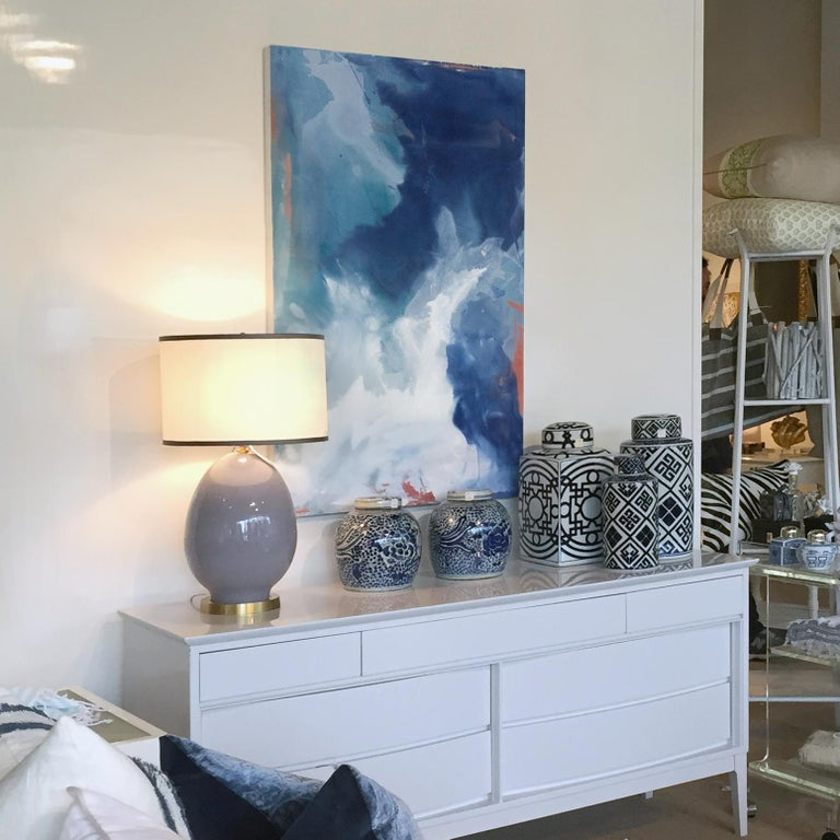 Coral Sea - Abstract Painting by Julia Contacessi