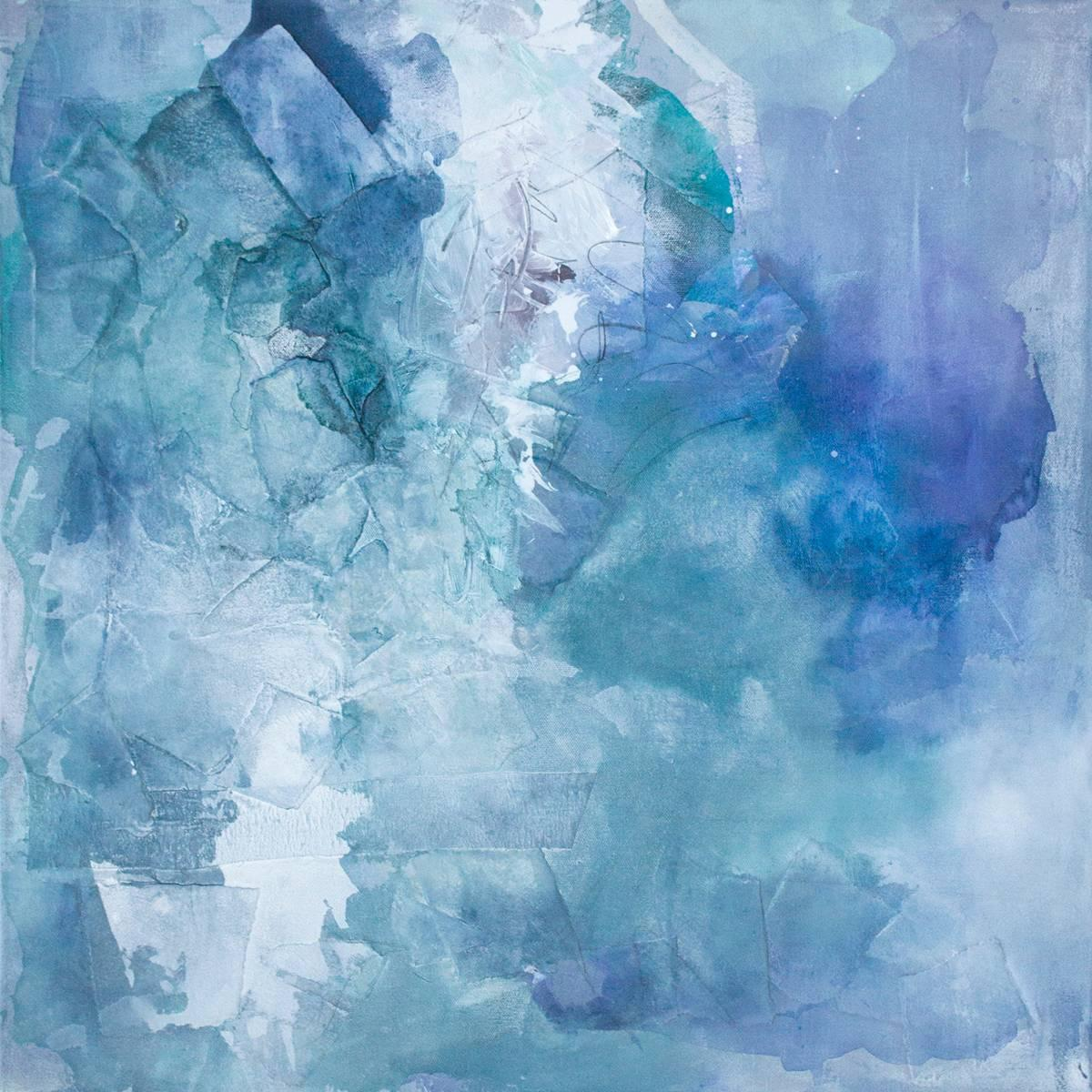 """""""Just Beneath,"""" Abstract Painting"""
