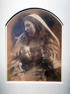 Saint Family: Rosie Prince, Mary Hillier & Freddy Gould, Victorian Photography
