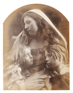 Saint Family: Rosie Prince, Mary Hillier & Freddy Gould, 19th Century Photograph