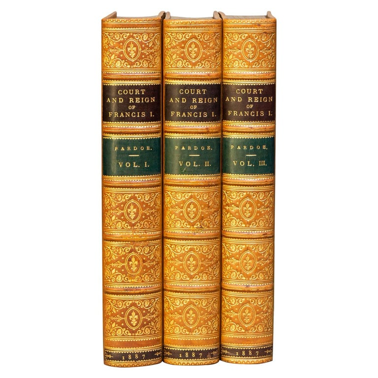 Julia Pardoe, The Court & Reign Of Francis The First For Sale
