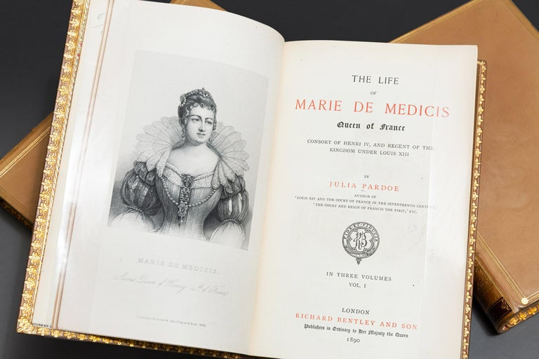 English Julia Pardoe, The Life Of Marie DeMedicis For Sale
