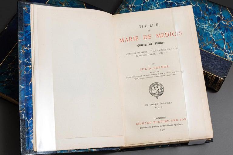 European Julia Pardoe, The Life Of Marie DeMedicis For Sale