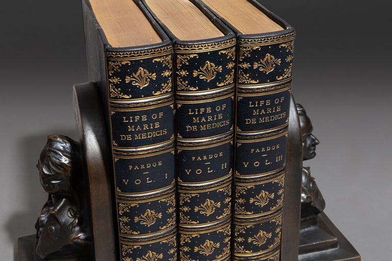 Late 19th Century Julia Pardoe, The Life Of Marie DeMedicis For Sale