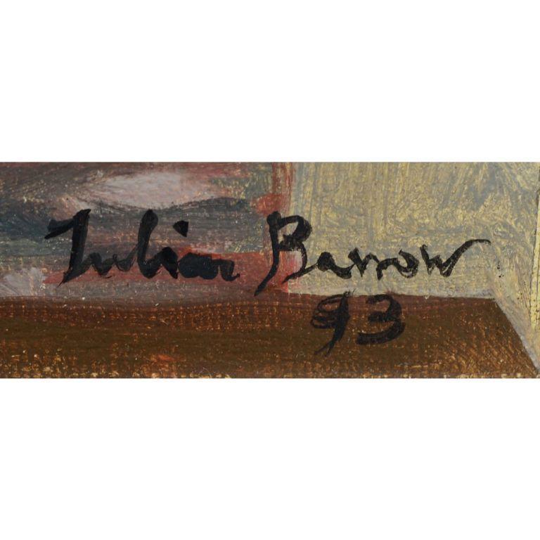 JULIAN BARROW (1939-2013):