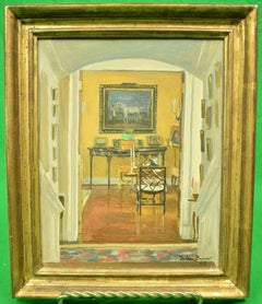 "JULIAN BARROW (1939-2013): ""OAKENDALE"", FROM FRONT HALL TO DRAWING ROOM"