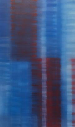"""Julian Jackson """"Nation"""" -- Colorful Abstract Painting on Canvas"""