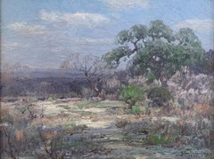 """"""" Winter in the Brush Country """"  Southwest Texas  1922"""