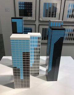 Modern Towers 1 (Set of 5)