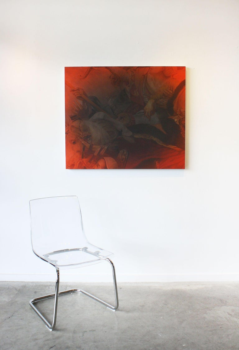 Untitled - Black Still-Life Painting by Julian Rogers