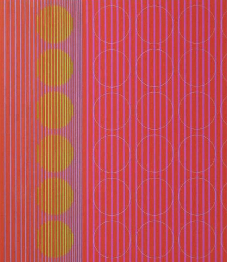Centered Rings - Print by Julian Stanczak