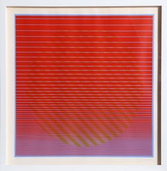 Rising No. 1 From Eight Variations, Serigraph by Julian Stanczak