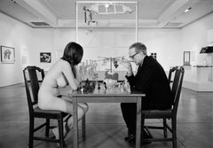 Marcel Duchamp Playing Chess with Eve Babitz