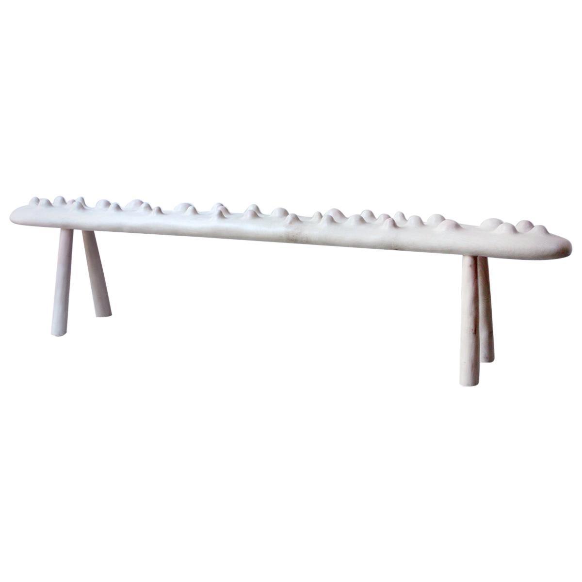 """Julian Watts """"Bench"""" Sculpture"""