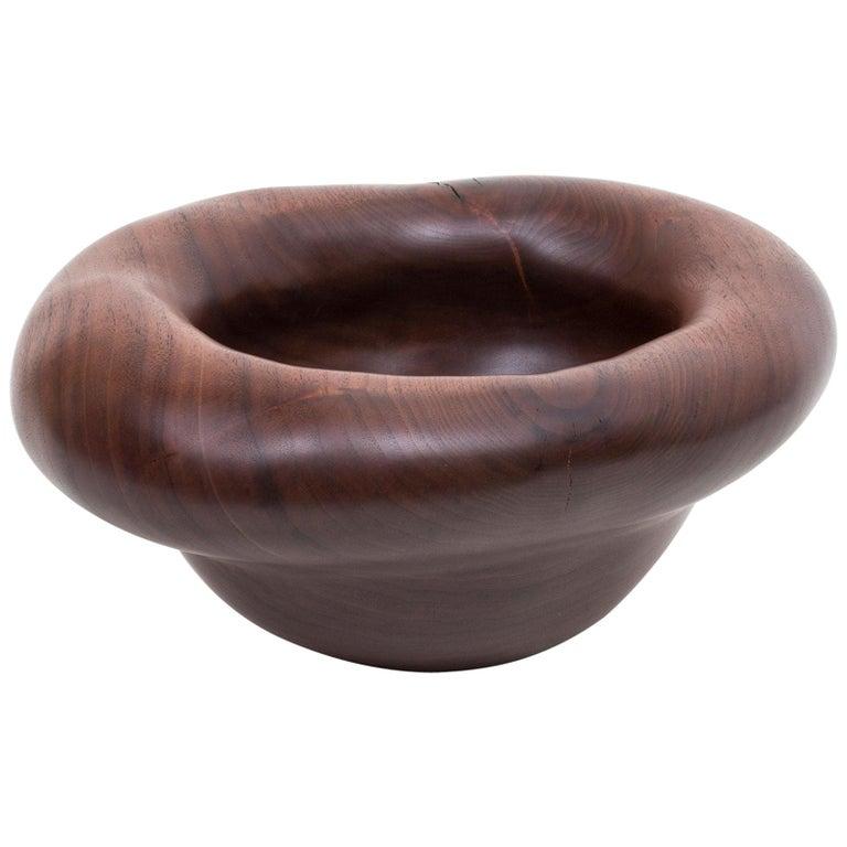 """Julian Watts """"Walnut Bowl"""" For Sale"""