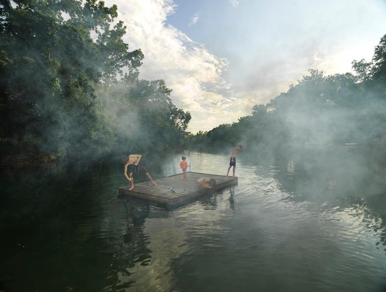 Julie Blackmon Color Photograph - Smoke