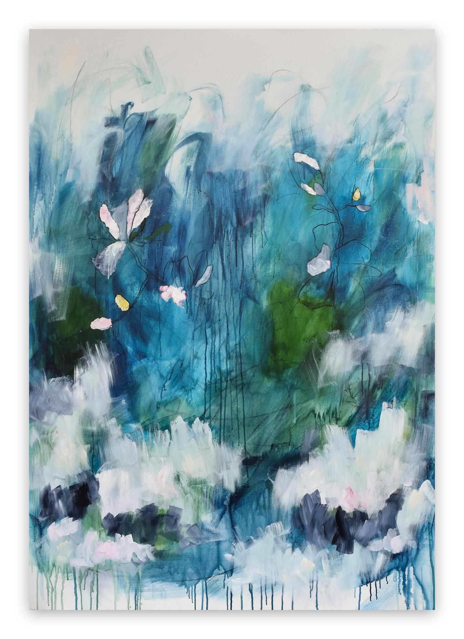 Pour Toujours - Forever (Abstract painting)