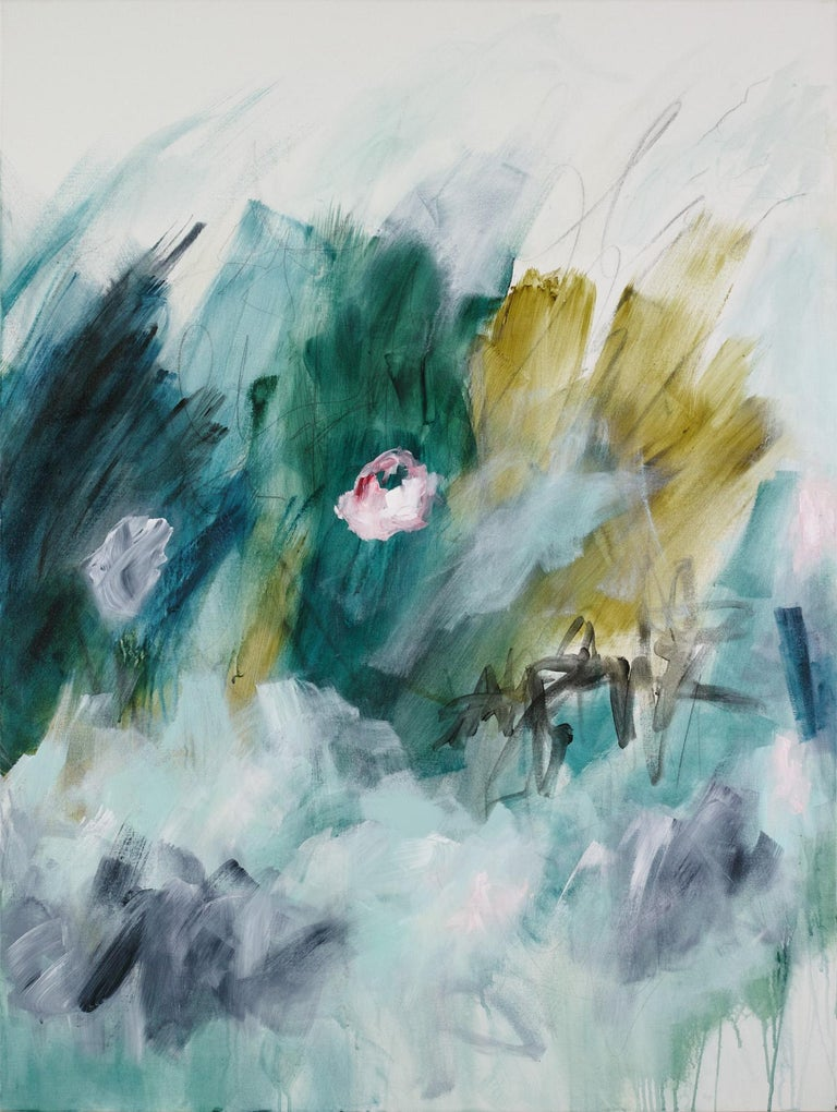 Sub-tropical (Abstract painting) For Sale 1