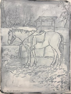 """At Ease"" - Horse Painting - Sketch - George Stubbs"