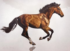 """Sculpture in Motion"" - American Realism - Horse Painting - Rosa Bonheur"