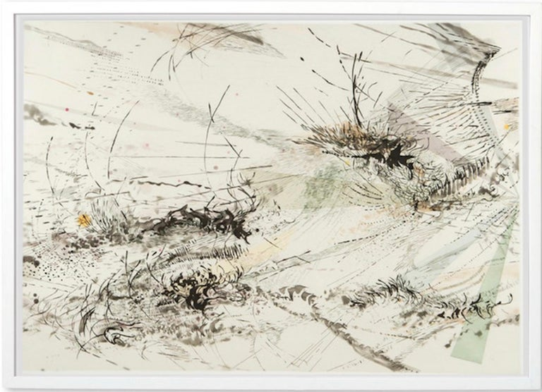 <i>Diffraction</i>, 2005, by Julie Mehretu, offered by HK Art Advisory