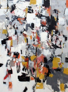 Composition with Black and Ochre II,