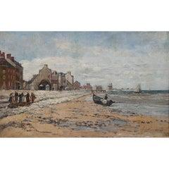 Julien Gustave Gagliardini Impressionist Oil Painting