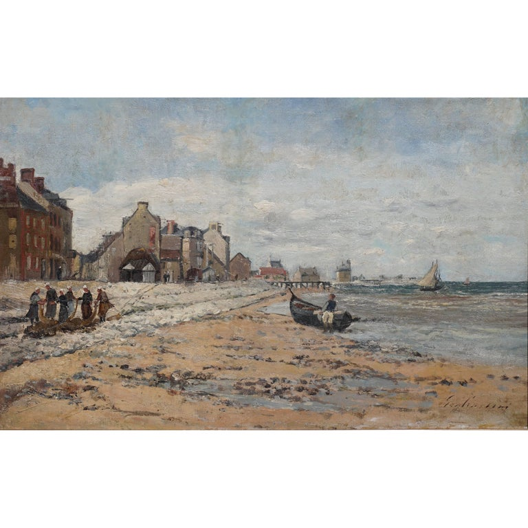 Julien Gustave Gagliardini Impressionist Oil Painting For Sale