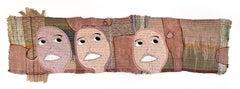 Handwoven textile wall hanging: 'Elizabeth'