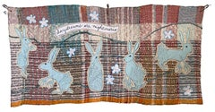 Textile wall hanging: 'Daydreams and Nightmares'