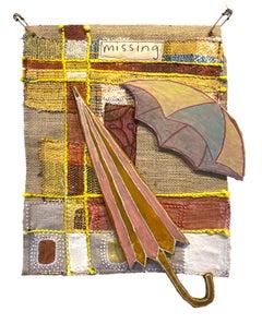 Textile wall hanging: 'Parasol'